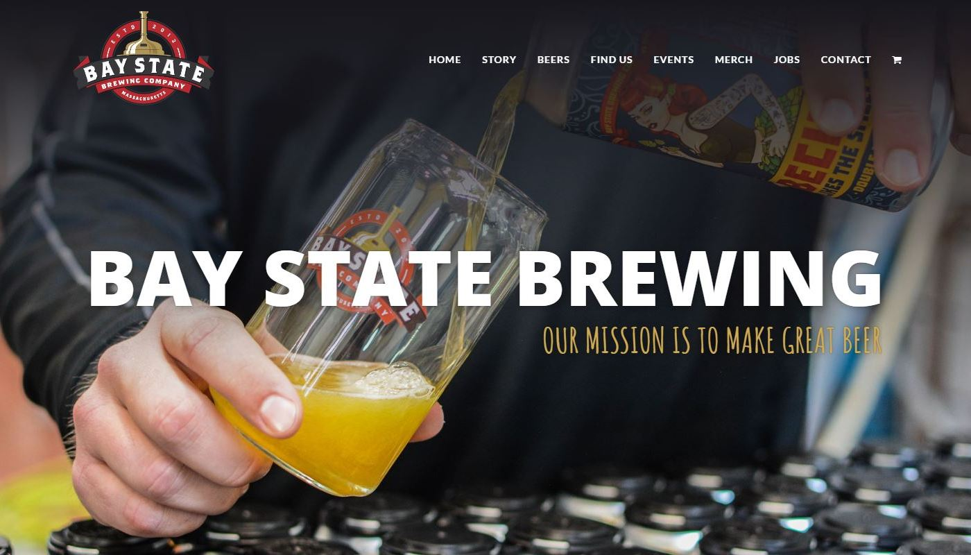 Bay State Brewing Web Design Agency Central MA