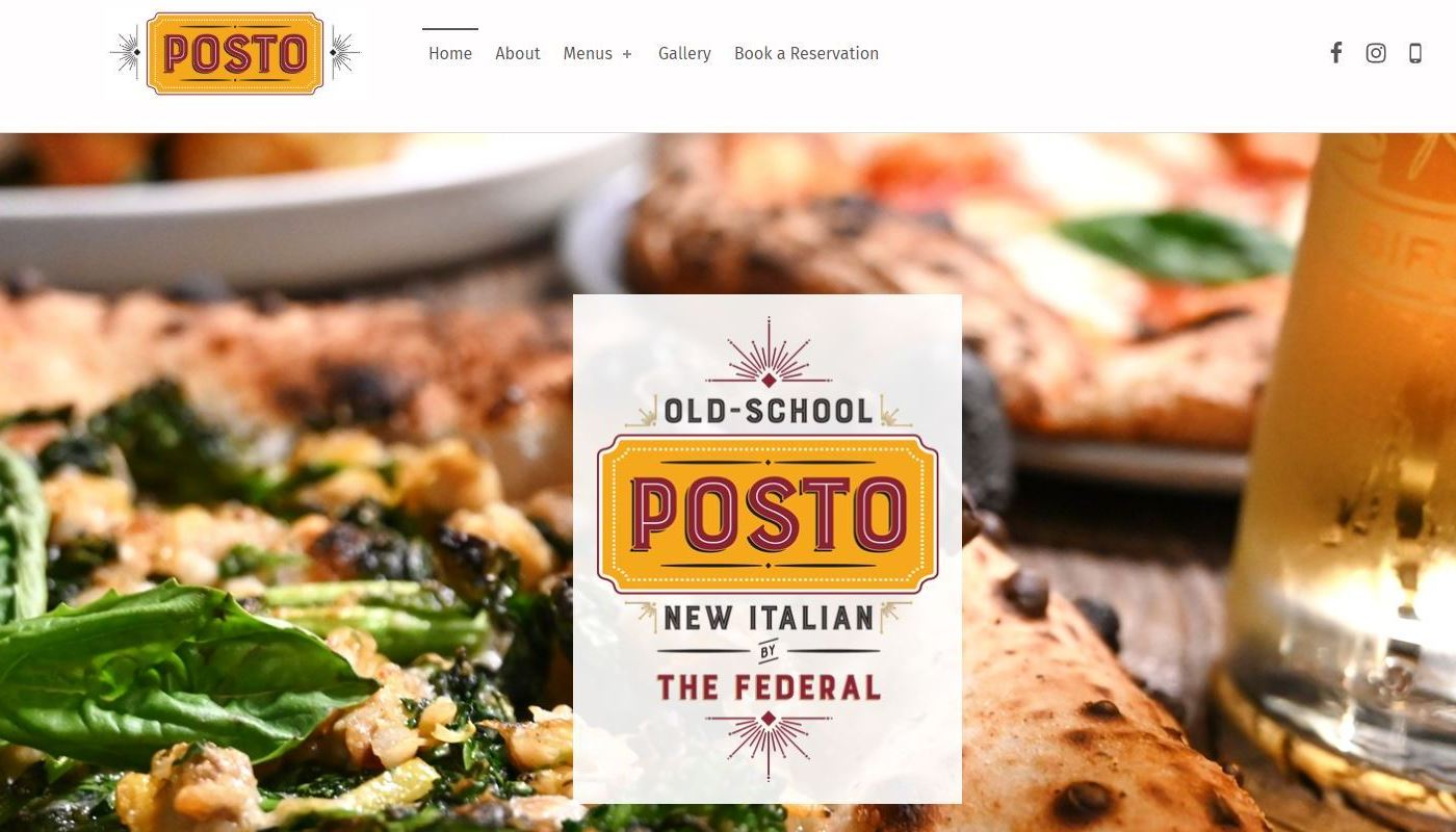 Posto WordPress Website Design Worcester MA