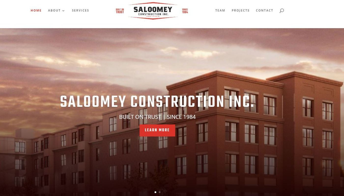 Saloomey WordPress Website Design Worcester MA